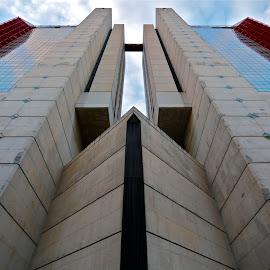 Corte Lambruschini Genova, Italia. by Felice Bellini - Buildings & Architecture Office Buildings & Hotels ( genova, corte lambruschini, italy )