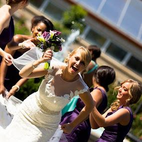 Bride on the loose by Matt Holley - Wedding Bride (  )