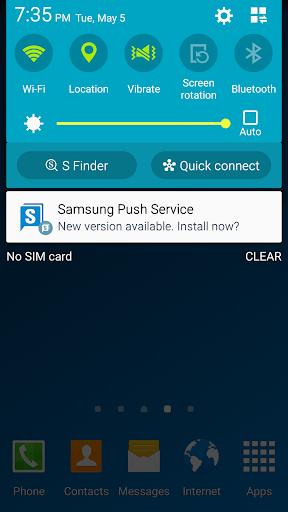 Samsung Push Service screenshot 2