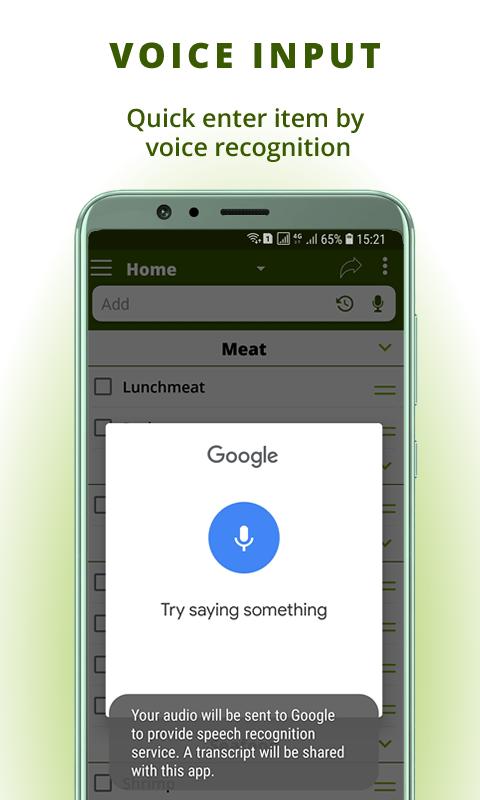 Grocery list: BigBag Pro Screenshot 7