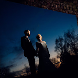 by Dominic Lemoine Photography - Wedding Bride & Groom