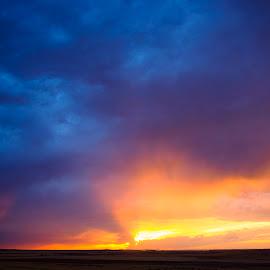 Summer storm by Joan Carbonell Tapiolas - Landscapes Weather ( bajo martin, summer, aragon, teruel, storm, olympus zuiko 7-14mm 2.8 pro, olympus omd-5 mkii, spain )