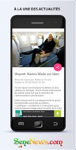 App SeneNews : News in Senegal apk for kindle fire
