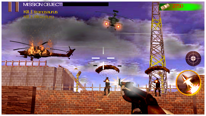android Death Clash War Zone Mission Screenshot 0