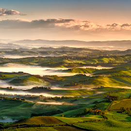 Tuscany by Stanley P. - Landscapes Prairies, Meadows & Fields