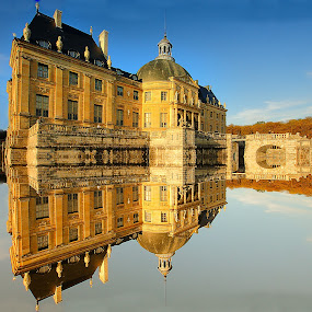 Château de Vaux le Vicomte by Gérard CHATENET - City,  Street & Park  Historic Districts