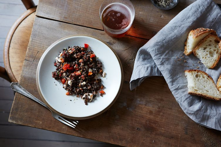 Lentil, Tuna, And Roasted Pepper Salad Recipes — Dishmaps