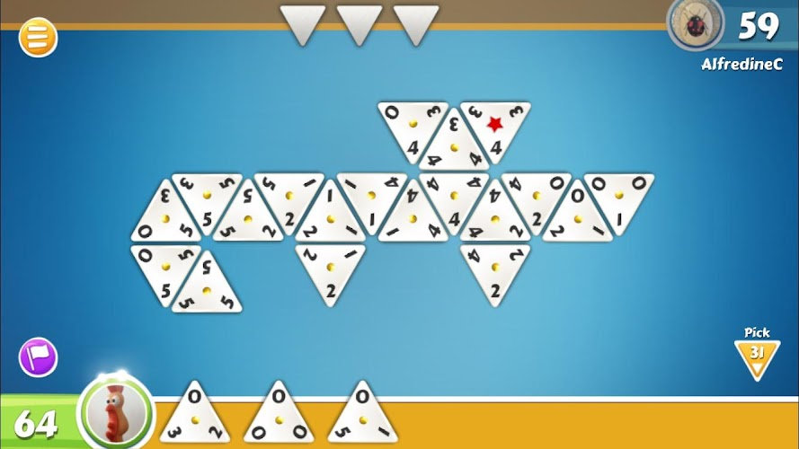 Triominos Android App Screenshot