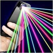 Laser 100 Beams Funny Prank APK for Bluestacks
