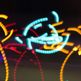 my art :P  by Sarath Goparaju - Abstract Light Painting ( canon, street, night, india, light )