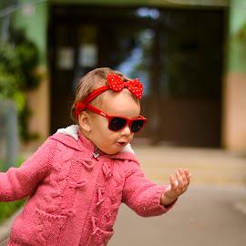 feel the music by Titus Criste - Babies & Children Children Candids ( red, d5200, kids, nikon, dance )