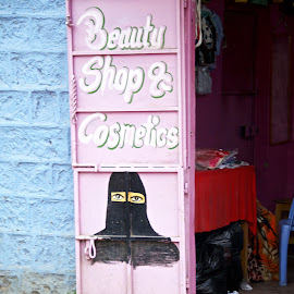 California Beauty Shop Nairobi by Chiara Maioni - City,  Street & Park  Street Scenes
