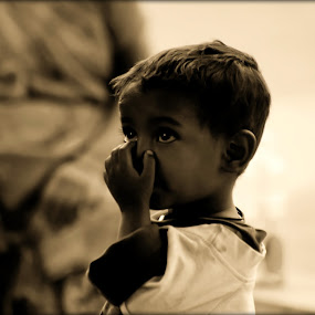 innocence  by Vyom Saxena - Novices Only Portraits & People