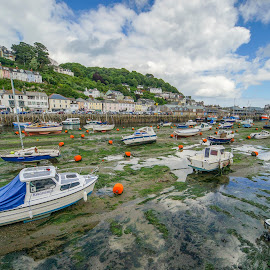 Looe,UK by Yordan Mihov - Landscapes Travel ( uk, england, looe, sea, cornwall, river )