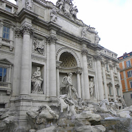 Trevi Fountain by Troy Durst - Buildings & Architecture Statues & Monuments