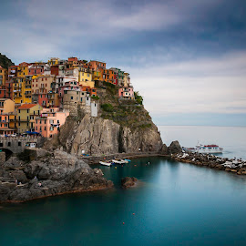 cinque terre by Krishanu Roy - Landscapes Waterscapes