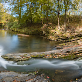 Arkansas at its best by Matt Hollamon - Nature Up Close Water ( tokina 11-16, long exposure, bigstopper, nikon d500, panorama )