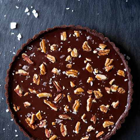 Chocolate Turtle Tart