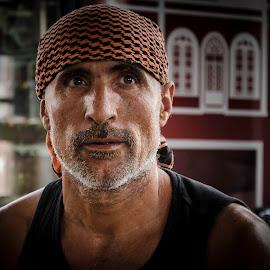 worker by Murat Besbudak - People Portraits of Men