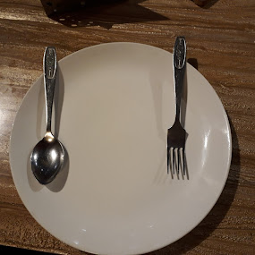 Dinner Arrangement by Rajashri Joshi - Food & Drink Plated Food ( dinner, fork, food, plate, glass, spoon )