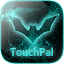 Free Download TouchPal Dark Neon Green Theme APK for Blackberry