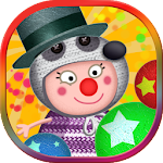 Circus games: Funny clowns Icon