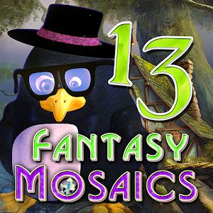 Cover art Fantasy Mosaics 13