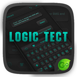 GO Keyboard Theme Logic Tect