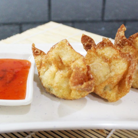 Crab Rangoon or Seafood Wontons