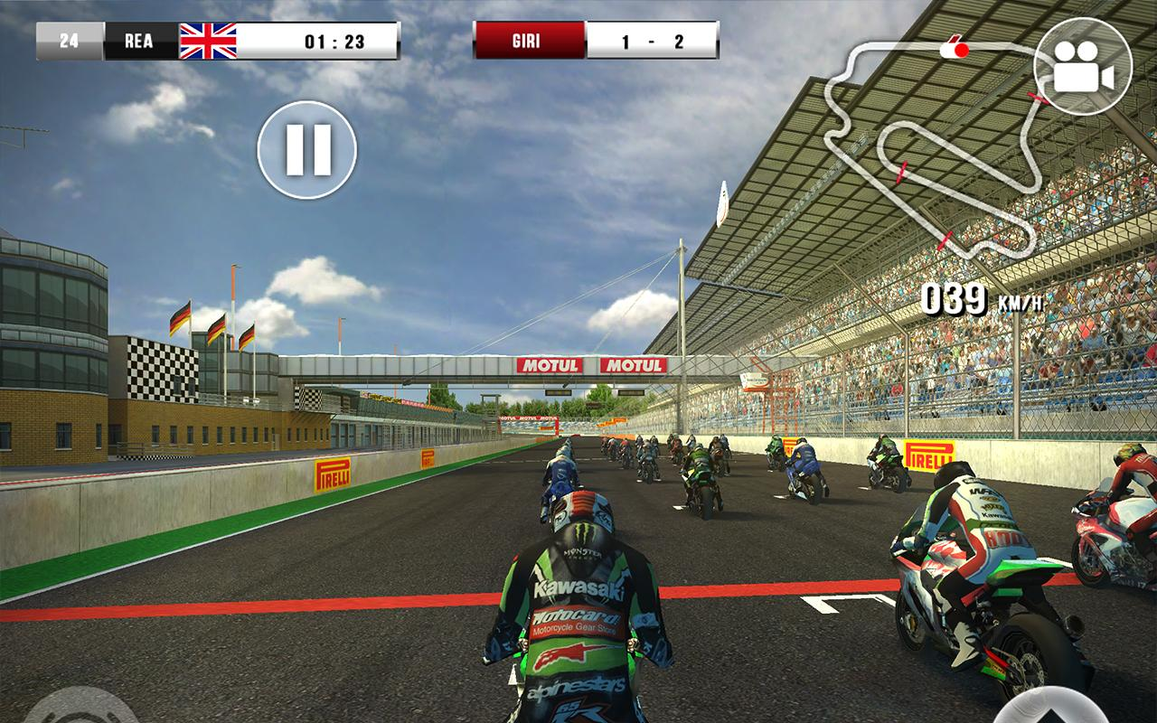 SBK16 Official Mobile Game Screenshot 2