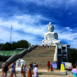 Big Buddha by Thibavel Selvarajoo - Buildings & Architecture Statues & Monuments ( statue, thailand, tourism, phuket, buddha )