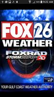 Screenshot of Houston Weather - FOX 26 Radar