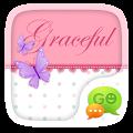 (FREE) GO SMS GRACEFUL THEME