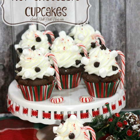Delicious Hot Chocolate Cupcakes