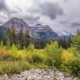 Glacier National Park by Sanal Kumar - Landscapes Mountains & Hills ( mountains, dual-iso, glacier national park )