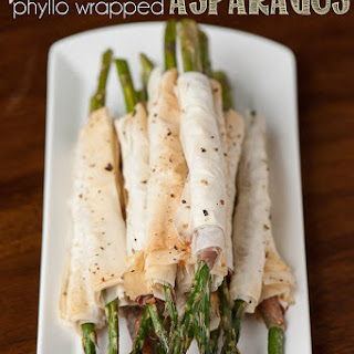 Prosciutto Phyllo Wrapped Asparagus