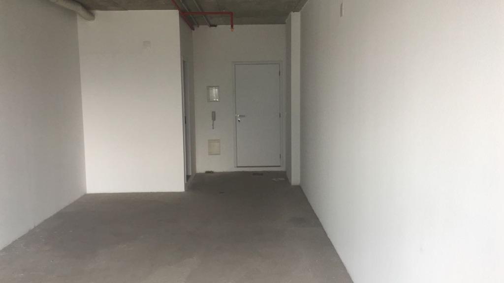 Sala à venda, 42 m² por R$ 165.000,00 - Valongo - Santos/SP