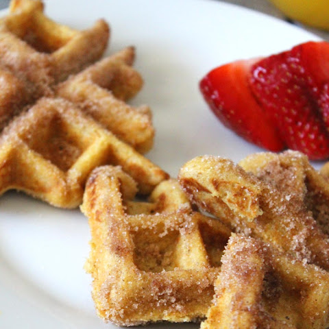 Whole Grain Churro Waffles
