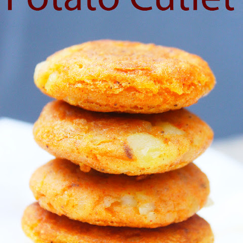 Bite-sized Potato cutlet