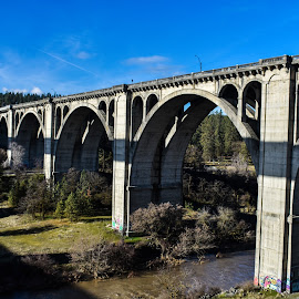 by Terry Oviatt - Buildings & Architecture Bridges & Suspended Structures