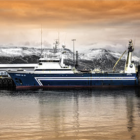 by Stephen Hooton - Transportation Boats ( iceland, boats, places )