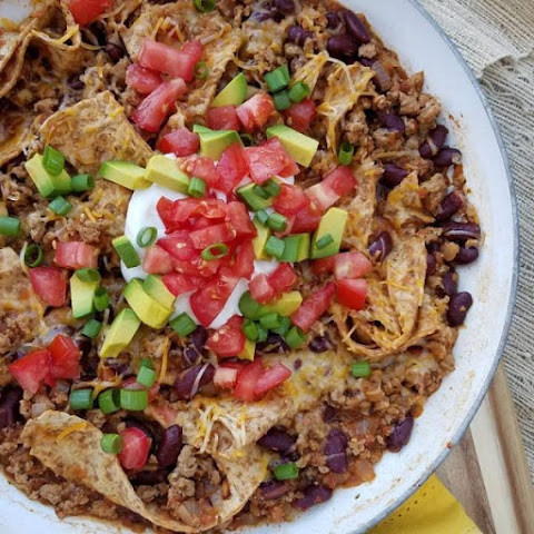 Weeknight Burrito Skillet