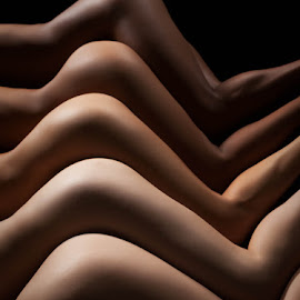Curves by Craig Colvin - Nudes & Boudoir Artistic Nude ( studio, model, nude, five, bodyscapes, butt, hips,  )