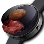 Parallax Watch Face APK Image