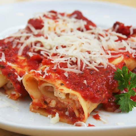 Mom's Famous Manicotti (or Stuffed Shells)