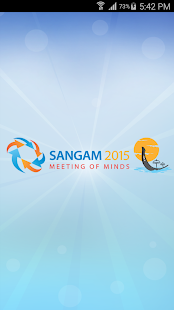 TCS Sangam 2015 - screenshot