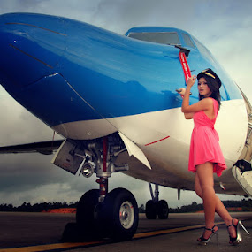 fly with me by Assoka Andrya - Transportation Airplanes