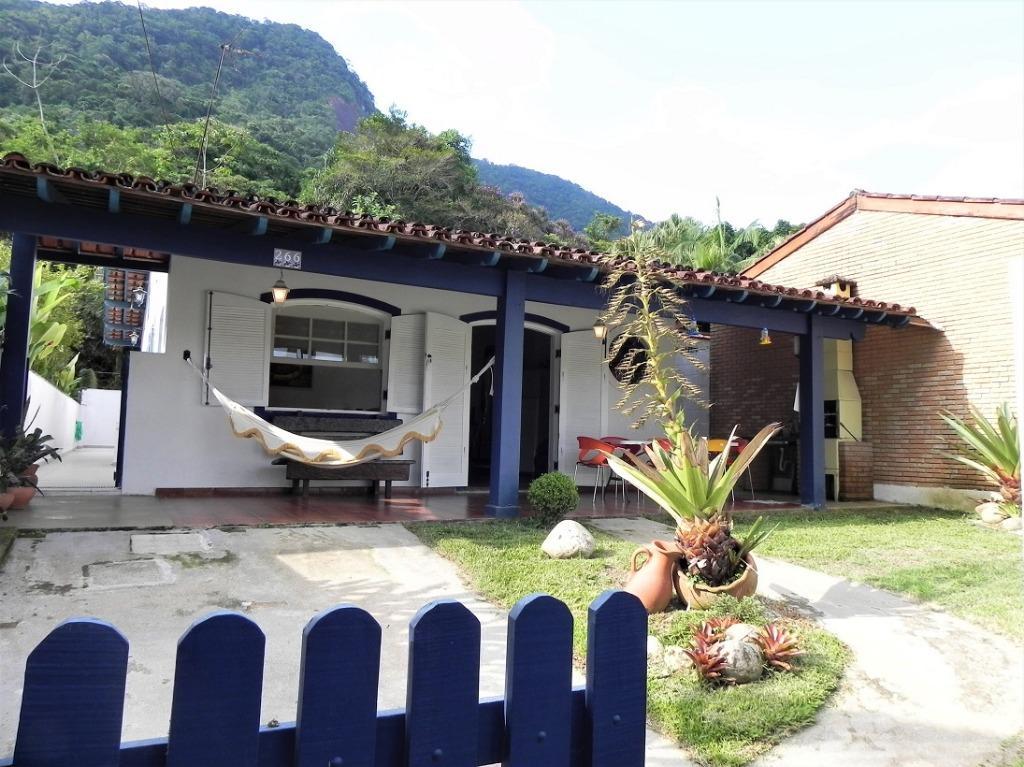 Casa residencial à venda, Lazaro, Ubatuba.