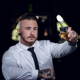 Another Please by Juan Smit - People Portraits of Men ( formals, bar, portraits, portrait, man )