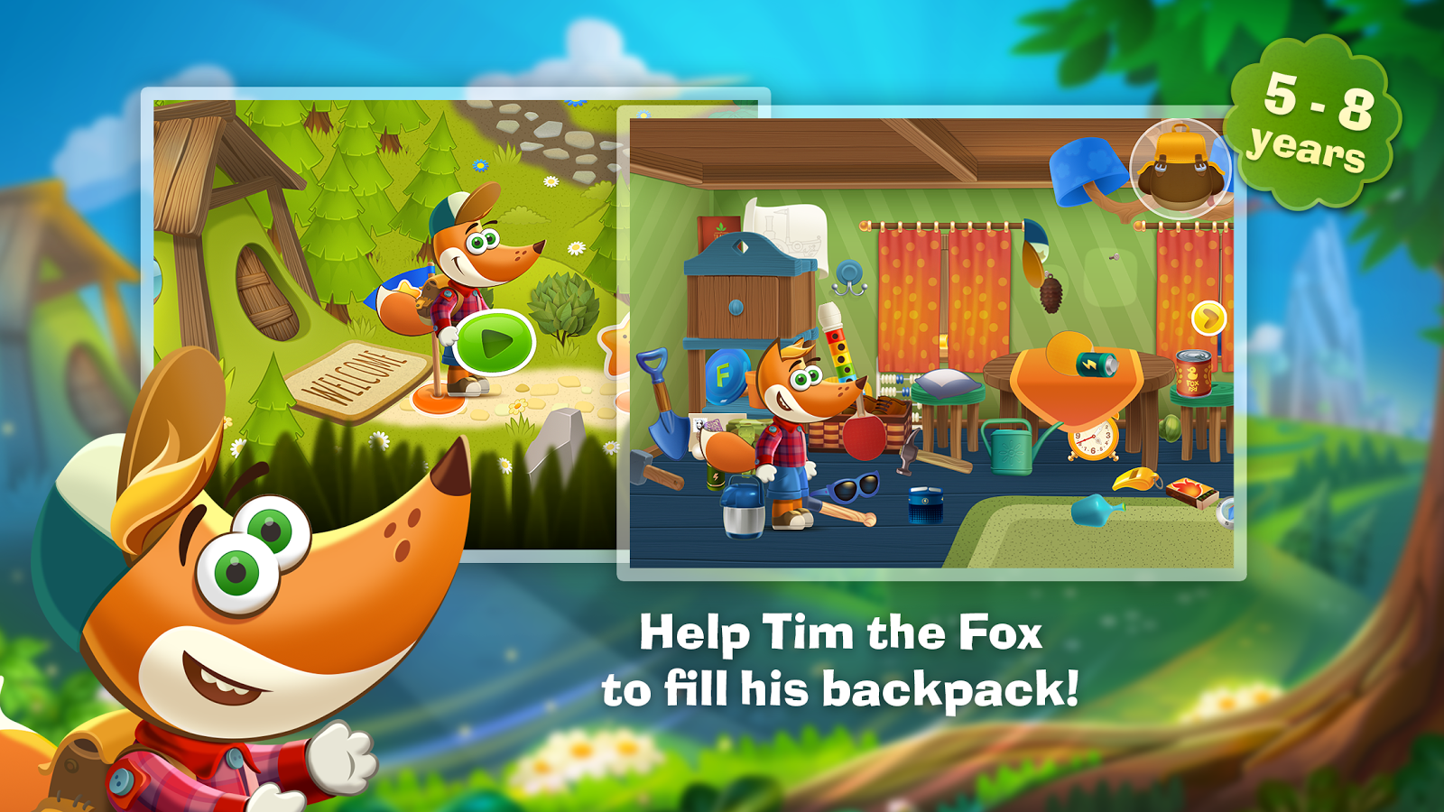Tim the Fox - Travel Screenshot